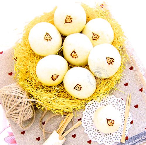 mini kaya steamed buns ~ highly recommended 迷你咖椰蒸包 ~ 强力推荐