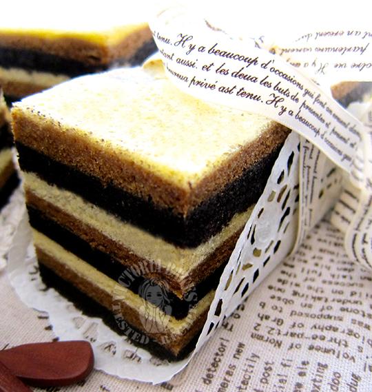 steam tiramisu layer cake 蒸提拉米苏千层蛋糕