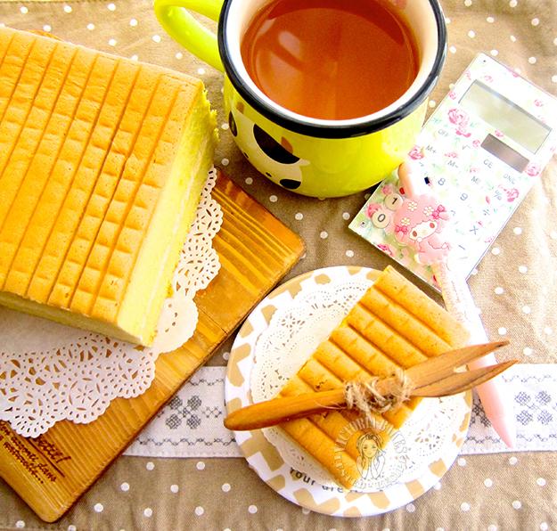 pandan kaya sponge sandwiches ~ highly recommended 班兰咖椰海绵夹心蛋糕~强推