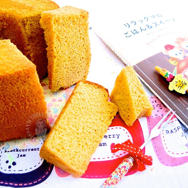 hainanese kaya chiffon cake 海南咖椰戚风蛋糕
