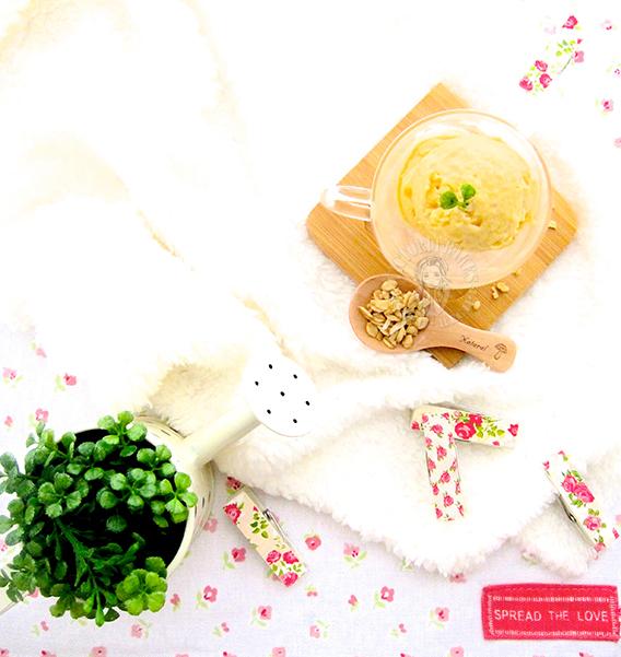 lychee ice cream 荔枝冰淇淋