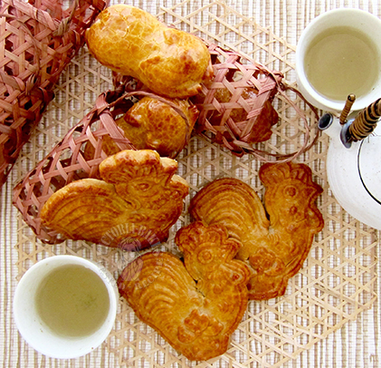 traditional piglet biscuit:recipe from the sifu~ 古法猪仔饼: 大师姐古法秘笈