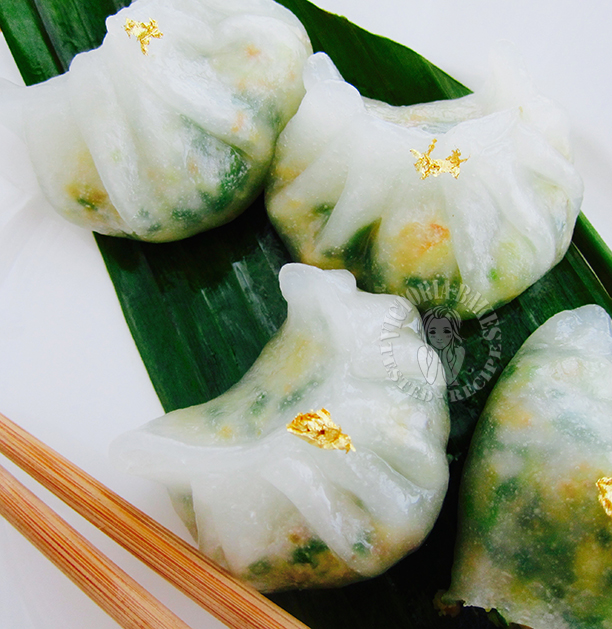 teochew crystal dumplings 潮州粉粿