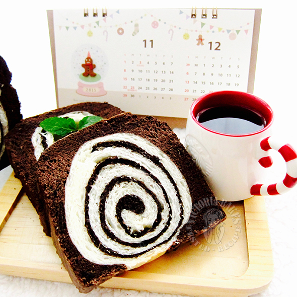 black diamond cake toast ~ it's good! 黒钻蛋糕吐司~超好吃!