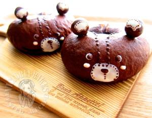 chocolate marble bagel 巧克力云石贝果 (✪㉨✪)