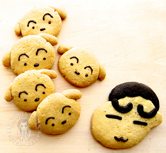 crayon shin-chan cookies 🍪 蜡笔小新曲奇
