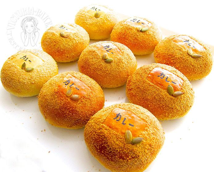 Chicken & Potatoes Curry Milk Buns 马铃薯咖喱鸡面包 о(ж>▽<)y ☆