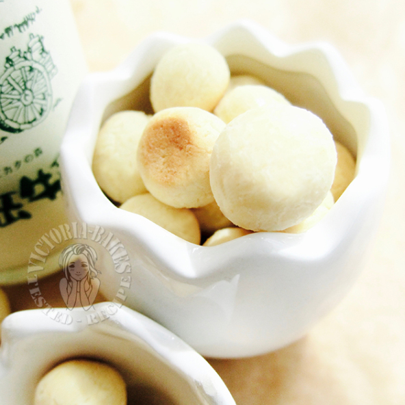 tamago boro (wang zai mini milk biscuits) 旺仔牛奶小馒头