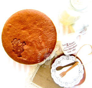cooked dough orange cottony cake 烫面香橙棉花蛋糕