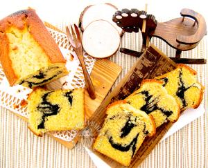 marble pound cake ~ yummylicious 大理石磅蛋糕 ~ 好吃好吃 (❛ัॢᵕ❛ั ॢ)✩*ೃ.⋆