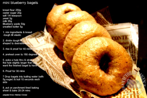 blueberry bagels… oh me gosh…
