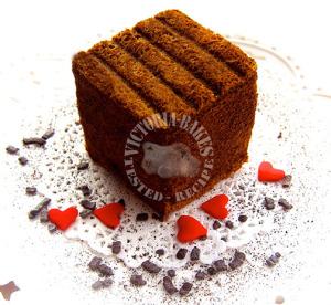 coffee ogura cake 咖啡相思蛋糕 (❍ᴥ❍ʋ)