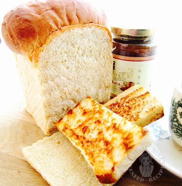 old fashion kopitiam bread loaf ~ highly recommended 古早咖啡店吐司面包 ~ 强推