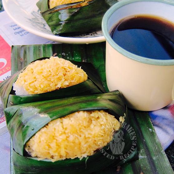 pulut inti 椰丝糯米饭