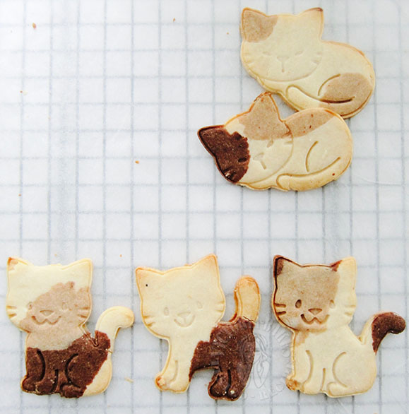 japanese style rice flour cookies 日式米粉曲奇