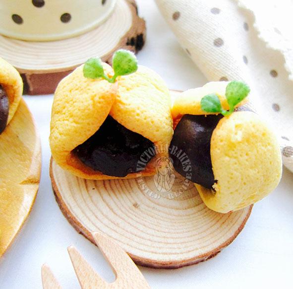 traditional mini ingot cakes 古早味元宝小蛋糕