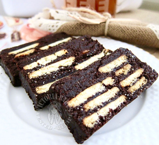 mini mocha kek batik (hedgehog slice) ~ yummmay 迷你摩卡刺猬千层蛋糕 ~ 挡不住的诱惑