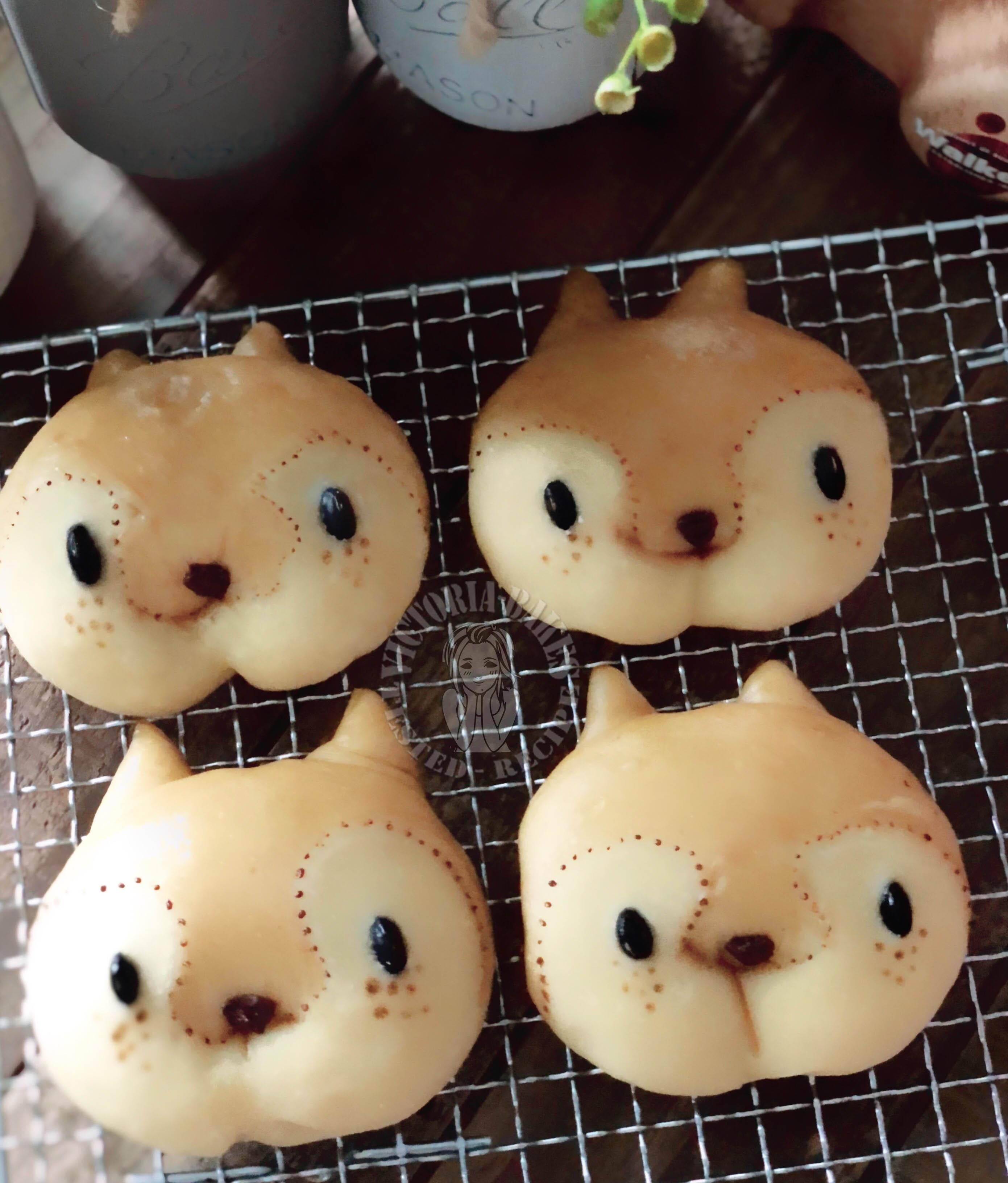 chipmunk japanese haiji bun 花栗鼠日式海蒂白面包