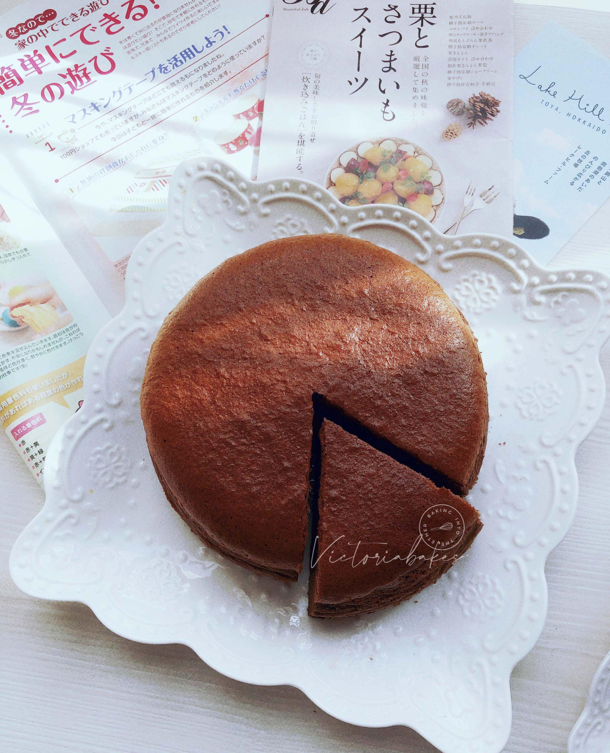 Velvety chocolate light cream cheesecake ~ highly recommended 浓郁巧克力轻乳酪蛋糕~强推