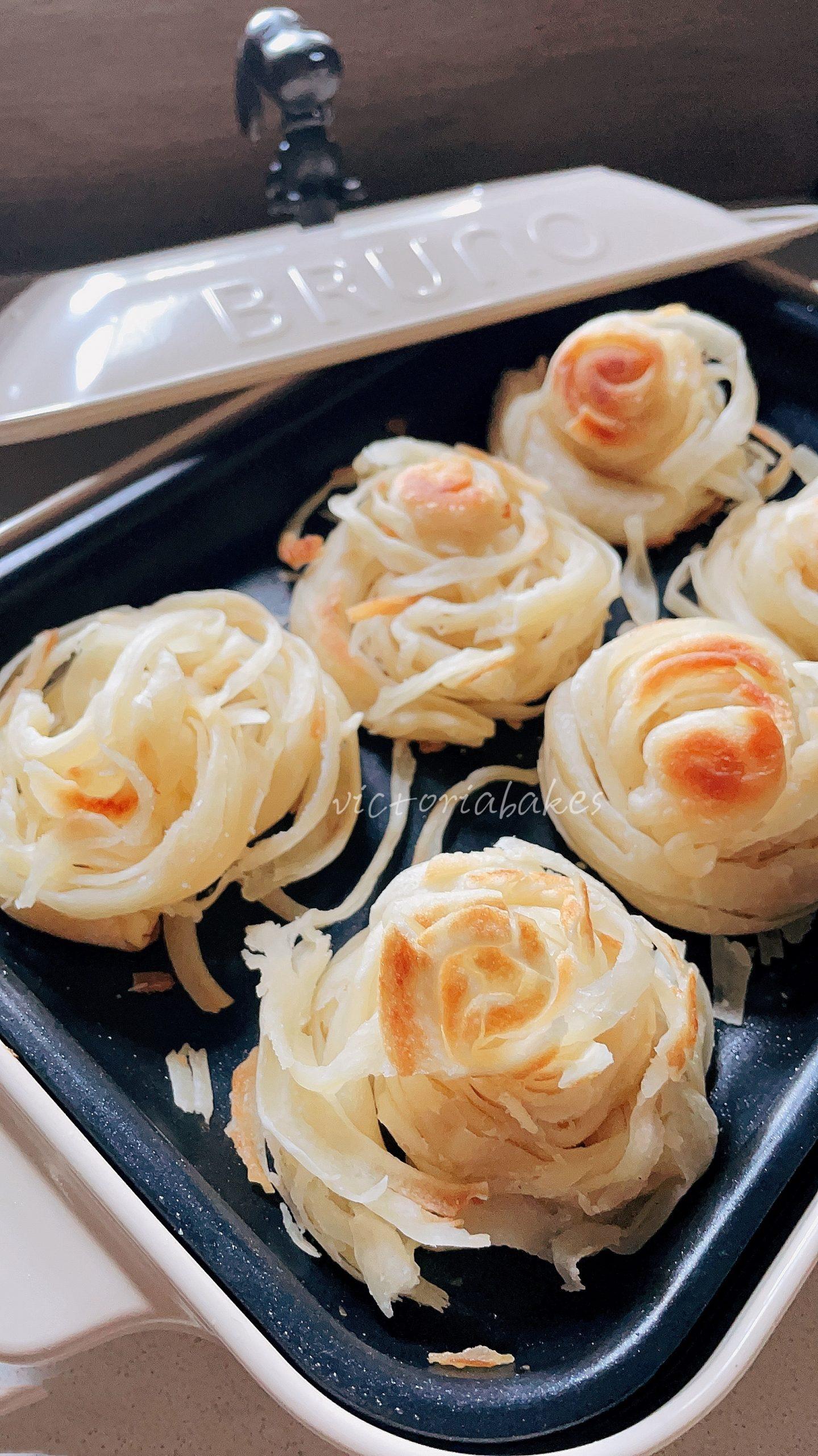 Golden spiral pancake